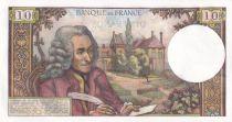 France 10 Francs Voltaire -07-09-1972 Série A.810 - SPL