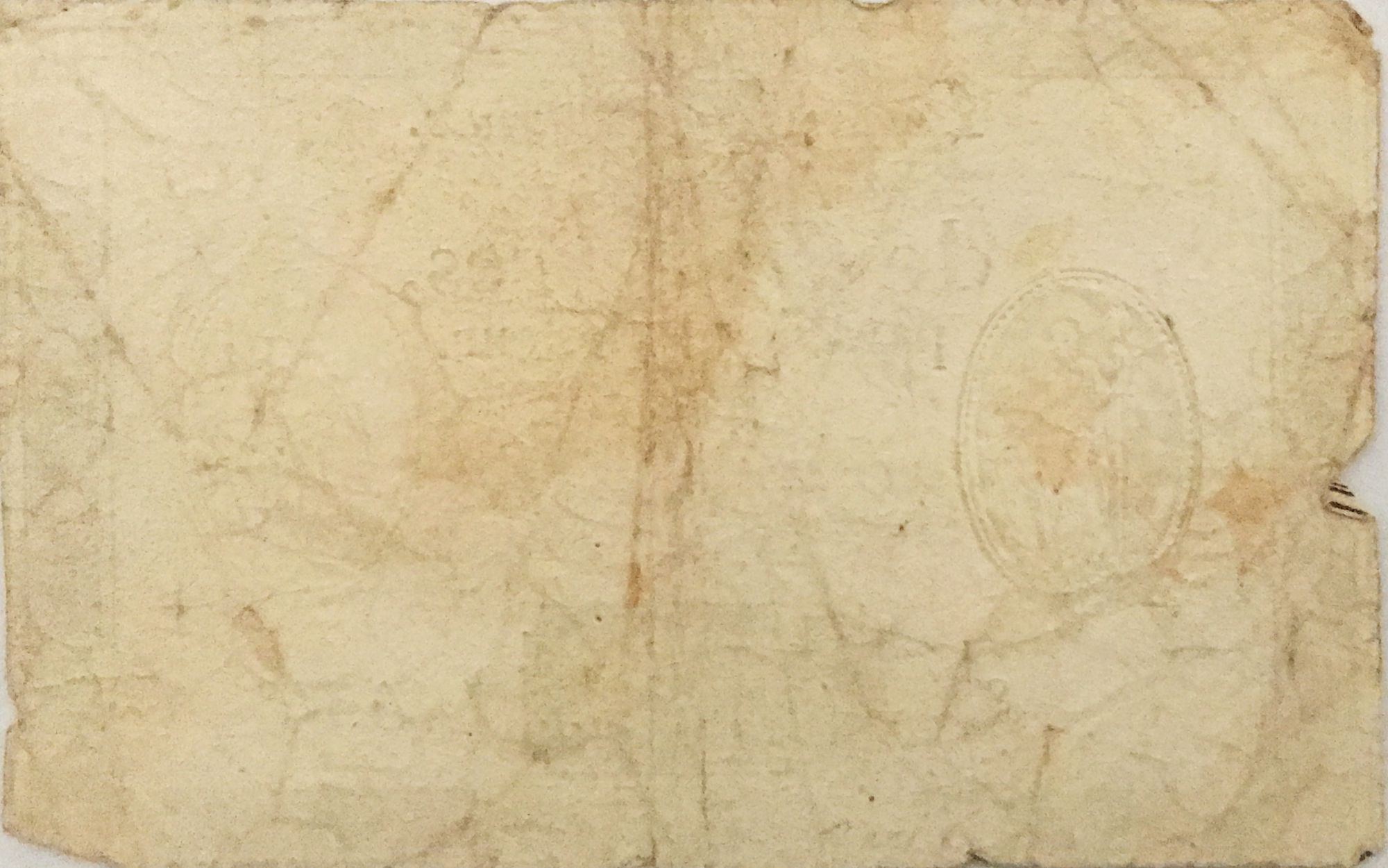 France 10 Livres Noir - Filigrane République (24-10-1792) - Sign. Taisaud - Série 1453 - B+