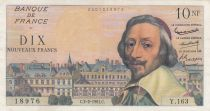 France 10 NF Richelieu - 02-02-1961 Serial Y.163 - VF - P.142