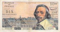 France 10 NF Richelieu - 02-06-1960 Serial T.175 - F to VF