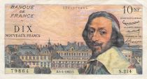 France 10 NF Richelieu - 05-02-1962 Serial S.214 - F