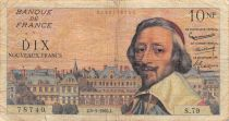 France 10 NF Richelieu - 05-05-1960 Serial S.79 - F