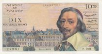 France 10 NF Richelieu - 06-04-1961 Serial Z.180 - VF