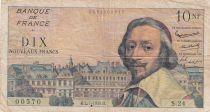 France 10 Nouveaux Francs Richelieu -02-07-1959 - Série S.24