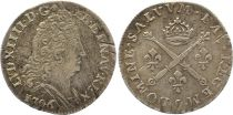 France 10 Sols Louis XIV aux insignes - 1706 Rennes Argent
