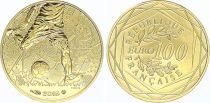 France 100 Euro Or UEFA - 2016 - Neuf