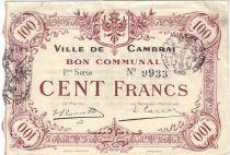 France 100 F Cambrai