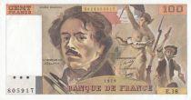 France 100 F Delacroix - E.18 - 1979