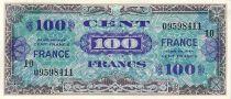 France 100 F Impr. américaine (France)