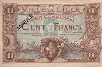 France 100 F Lille Annulé