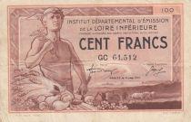 France 100 Francs , Nantes (Loire-Inférieure) - 1940 - GC61.512 - TTB
