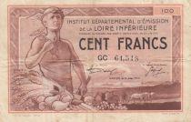 France 100 Francs , Nantes (Loire-Inférieure) - 1940 - GC61.513 - TTB