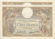France 100 Francs, paire de n° consécutifs Luc Olivier Merson - Grands Cartouches - 12/11/1931