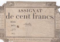 France 100 Francs 18 Nivose An III - 7.1.1795 - Sign. Berton