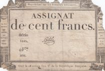 France 100 Francs 18 Nivose An III - 7.1.1795 - Sign. Gibier