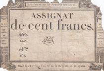 France 100 Francs 18 Nivose An III - 7.1.1795 - Sign. Gibier