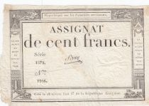 France 100 Francs 18 Nivose An III - 7.1.1795 - Sign. Saxy
