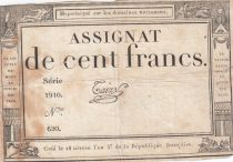France 100 Francs 18 Nivose An III - 7.1.1795 - Sign. Taizy