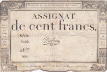 France 100 Francs 18 Nivose Year III - 7.1.1795 - Sign. De Caen