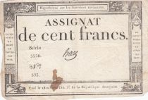 France 100 Francs 18 Nivose Year III - 7.1.1795 - Sign. Haze