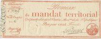 France 100 Francs 28 Ventose An IV (18.3.1796)