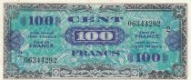 France 100 Francs Allied Military Currency - 1944 - Serial 2