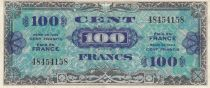France 100 Francs Allied Military Currency - 1944 - without serial - VF