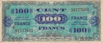 France 100 Francs Allied Military Currency - 1945 Serial 3 - F to VF