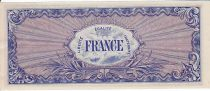 France 100 Francs Allied Military Currency - 1945 Serial 9