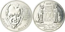 France 100 Francs André Malraux - 1997 Silver - Essai