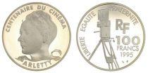 France 100 Francs Arletty - Centenaire du Cinéma - 1995