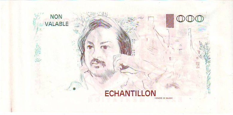 France 100 Francs Balzac (type 100F Delacroix)
