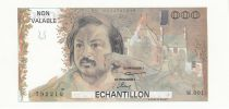 France 100 Francs Balzac 1980 - Série M.001 - Echantillon