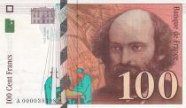 France 100 Francs Cézanne - 1997 - Petit n° A.000039398