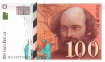 France 100 Francs Cezanne - 1997 - Série M-010 - SPL+