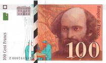 France 100 Francs Cezanne - 1997 - Série Z-000 - SPL