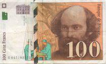 France 100 Francs Cézanne - VF 1997 or 1998