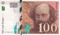 France 100 Francs Cézanne - VF 1998 various serials