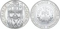 France 100 Francs Charlemagne - 1990