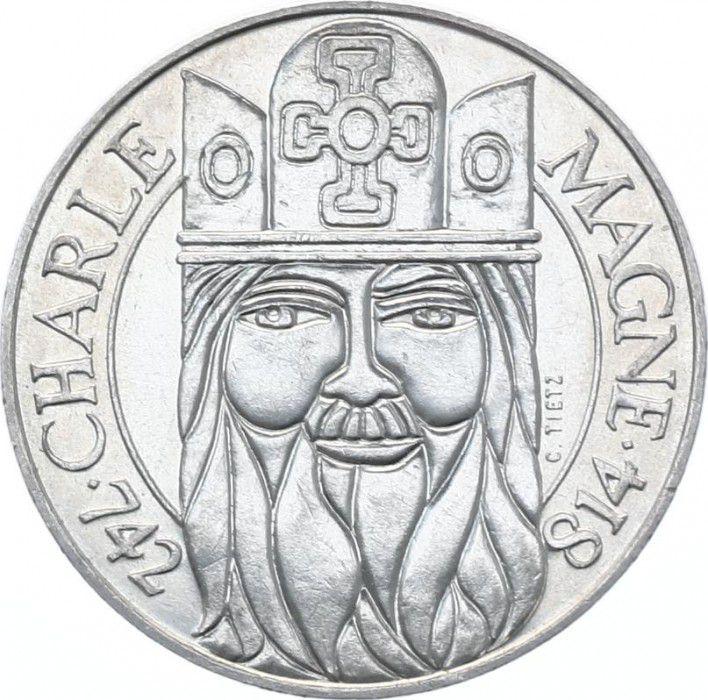 France 100 Francs Charlemagne - 1990