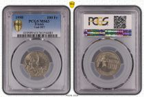 France 100 Francs Cochet - 1958 - PCGS MS 63