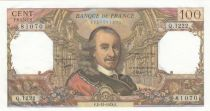 France 100 Francs Corneille - 01-01-1970 - Serial Q.445 - XF+