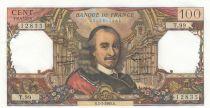 France 100 Francs Corneille - 01-07-1965 - Serial U.99