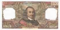 France 100 Francs Corneille - 01-09-1977 - Serial N.1099 - AU