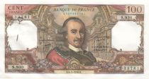 France 100 Francs Corneille - 04-03-1976 - 8 consecutives numbers Serial S.930