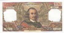 France 100 Francs Corneille - 05-10-1972 - Serial W.671