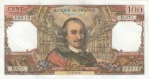 France 100 Francs Corneille - 05-10-1972 - Série D.679