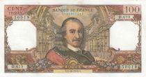 France 100 Francs Corneille - 05-10-1972 - Série D.679