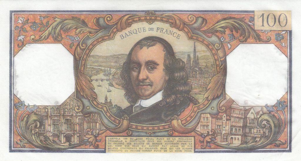 France 100 Francs Corneille - 06-02-1975 - Série D.837