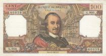 France 100 Francs Corneille - 06-11-1975 - Serial G.900 - XF+